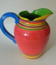 Pacific Rim Handpainted Exclusive Multi-Color Pitcher Dishwasher/Microwave safe