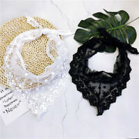 Triangle Scarf Neck Hair Tie Head Wrap Handkerchief Headband Small Scarves BS