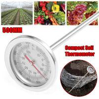 Compost Soil Thermometer Garden Plant °C / °F Temperature Measuring