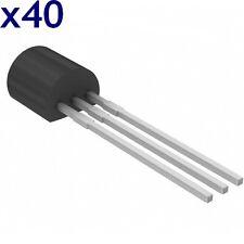 BC307C Transistor PNP 45V 100mA TO-92 CDIL RoHS (lot de 40)