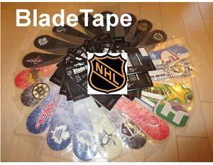 BladeTape, Blade Tape,NHL Hockey Team Logos, Hockey Stick Tape, Replacement Tape