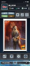 CHEWBACCA & HAN SOLO IN CARBONITE Essentials White - Topps Star Wars Card Trader
