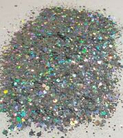 Polyester Chunky Craft Glitter - 1oz Multiple Color Options