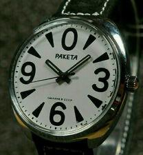 5 verres de montres plastique~diamètre 352~Raketa Big Zero
