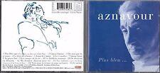 CD 15 TITRES CHARLES AZNAVOUR PLUS BLEU .... feat EDITH PIAF DE 1997 TBE