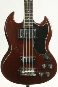 Used Gibson Eb-3 Slotted Head 1970S Bass *Gjr182