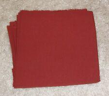 Dark Rust Silky Woven Slightly Textured Rayon Blend Fabric - 2 1/2 yards - NEW!