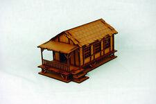 Far east ou jungle petite maison de village 28mm laser cut mdf building K006