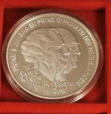 Niederlande 25 Ecu 1994, Juliana und Bernhard  925 Silber