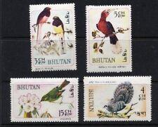 1968 Bhutan - Birds (4) MUH