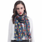 Dogs Print Infinity / Long Scarf Pet Puppy Christmas Gift Idea for Dog Lover