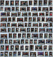 2020 Topps Road To Wrestlemania WWE Foilboard Parallel Complete You U Pick Set