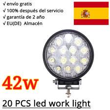 20 X 42w LED Faros de trabajo de la luz de camiòn Làmpara Work Light UTV 12V/