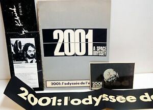 2001 a space odyssey -1968- Stanley Kubrick-Press Book ORIGINAL+divers -USA