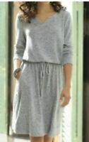 XL NWT $79.95 Soft Surroundings Easy Living Dress Long Sleeve Ultimate Softness