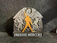 Freddie Mercury Queen Action Figure Idea Regalo Nerd Geek Collezione Logo Gadget