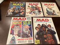 5- MAD Magazines 196 203 220 242 Super Special ++1978 Star Wars Issues
