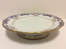 Porcelaine de Paris superbe plat style Louis XV rocaille Louis-Philippe 1840 .