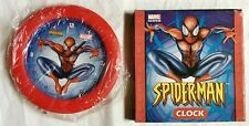 Spider-man wall clock NEW in box never used Ultimate spiderman 2003