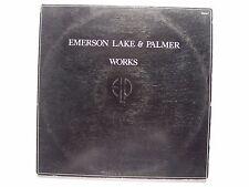 Emerson Lake & Palmer - Works Volume 1 Vinyl LP Record Album SD 2-7000