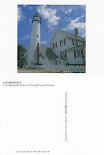 FENWICK ISLAND LIGHTHOUSE DELAWARE UNITED STATES UNUSED COLOUR POSTCARD
