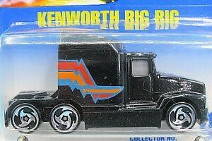 HOT WHEELS VHTF BLUE CARD SERIES KENWORTH BIG RIG (T600A) #76
