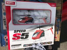 Syma Speed S5 3 Channel RC Helicopter Brand New In Box - Best Offer!