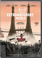 April And The Extraordinary World [New DVD] Slipsleeve Packaging, Snap Case