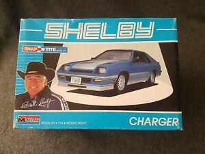 Unbuilt Shelby Charger 1:24 Monogram 1416. F