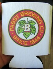 Pabst Brewing Co. Can/Bottle Holder Koozie! Coozie Check It Ou