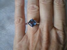 Colour Change Fluorite ring, size L/M, 2.63 carats, 2.21 grams of 925 Sterling S