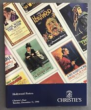 Christie's East Hollywood Posters Catalog -1990 (Good)