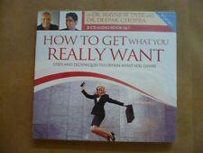 How To Get What You Really Want: Steps / Deepak Chopra, Wayne W Dyer 2CD NEW