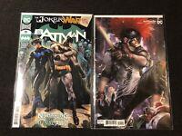 BATMAN 99 2020 JOKER WAR Main Mattina Variant DC Comic Clown Hunter Nightwing NM