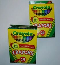 2 x New Crayola Crayons 24 Ct