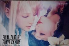 """PAX EAST 2017 Exclusive - Final Fantasy Brave Exvius Poster Print - MINT! 17x11"""""""