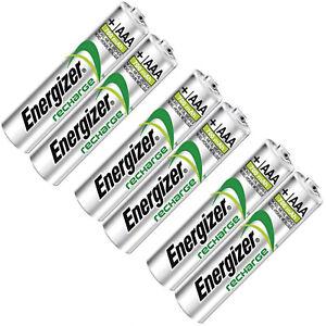 6 AAA Rechargeable Energizer batteries for Philips SBC HB550S Headphones 700mAh