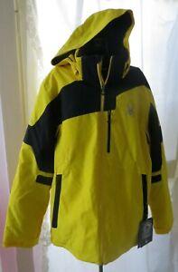 Spyder Men's XL Summit Ski/Snowboard Jacket Sun/Blk