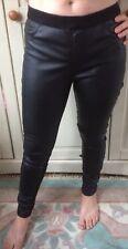 Dp Denim Sexy Pvc Wet Look Skin Tight Leggings Size 12