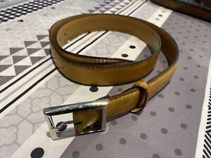 Berluti Light Brown Leather Belt 110/44
