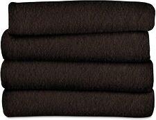 Sunbeam Fleece Electric Heated Throw Blanket, Walnut