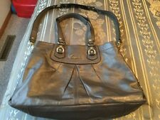 Coach Ashley Leather Carryall Tote Shoulder Bag F15513