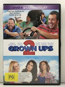DVD - Grown Ups 2 Two - FREE POST #P2