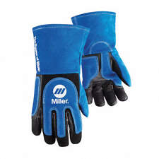 Miller Heavy Duty Hd Mig Stick Welding Gloves Xl Lg 263339 263340 Arc Armor