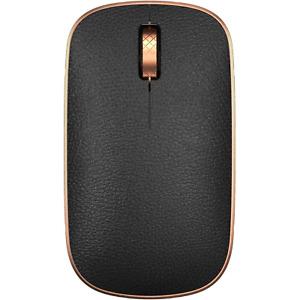 NEW AZIO Retro Artisan Classic Mouse Wireless Bluetooth Leather