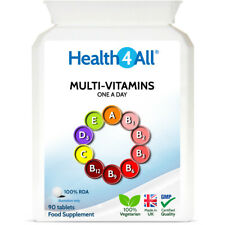 Health4All Multi Vitamins One a day Tablets | 100% RDA | Top Quality