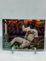 🔥🔥2020 Topps Chrome VICTOR REYES SEPIA REFRACTOR #126 Detroit Tigers