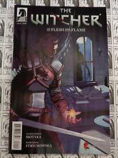 Witcher Of Flesh And Flame (2018) Dark Horse - #1, Motyka/Strychowska, NM