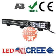 "A&B 36"" 234W Driving Light Bar 18500LM CREE-LED 12V 24V Spot/Spread Combo Beam"