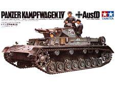 Tamiya 1/35 scale WW2 German Pzkpw IV Ausf. D Tank Military model kit